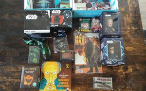 9 full NERD BLOCK BOXES ( full of collectibles 1 more box in left check page 2) for Sale in San Diego, CA