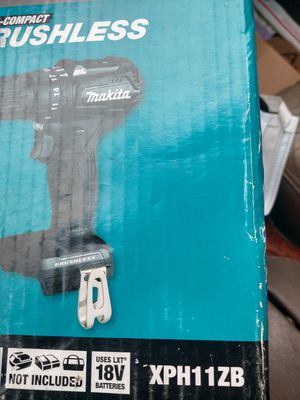 Makita XPH11ZB 18v Sub-Compact Brushless Cordless Hammer Driver-Drill Tool Only for Sale in Brockton, MA