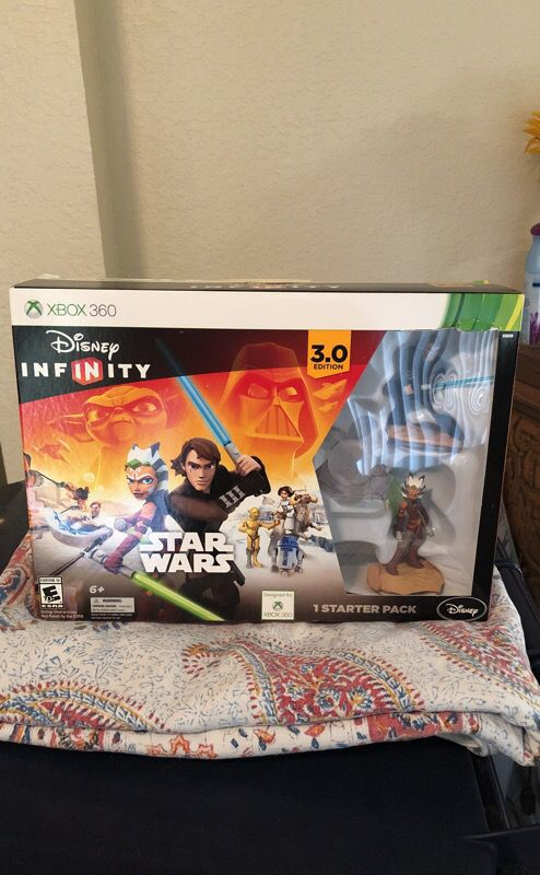 Star Wars starter pack (XBOX 360) video game set