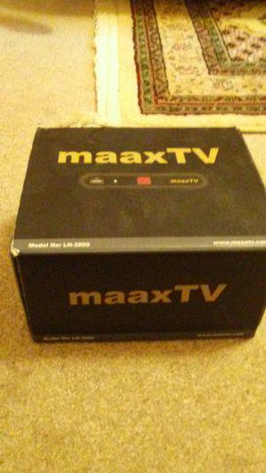 Maaxtv tv box for Sale in Falls Church, VA