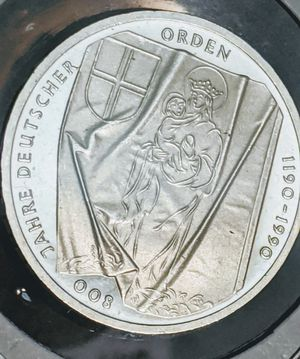 1990-J Germany Silver Proof 10 Mark for Sale in Pittsfield, MA