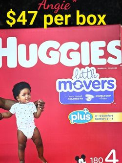 Huggies Little Movers Size 4 for Sale in Bellflower,  CA