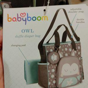 Owl Diaper Bag for Sale in Jurupa Valley, CA