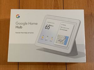 """Google Nest Hub 7"""" Touchscreen with Built-In Google Assistant GA00516US for Sale in Garden Grove, CA"""