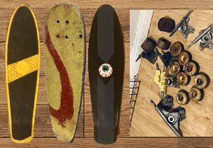 Vintage skateboard parts lot +3 decks for Sale in Cypress, CA