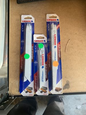 Sawzall blades for Sale in Los Angeles, CA