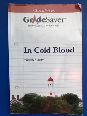 In Cold Blood Gradesaver for Sale in Twinsburg, OH