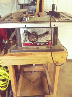 Skill saw 10-inch table saw for Sale in Nashville, TN