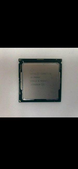 Intel core I5 9600k for Sale in Jacksonville, FL