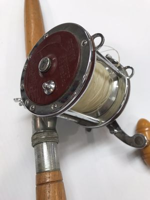 Penn reel and tru temper pole. Fir the BIG FISH for Sale in Ulster Park, NY
