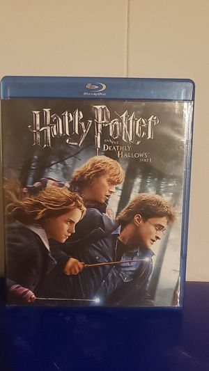 Harry Potter Deadly Hallows Blue Ray for Sale in San Antonio, TX