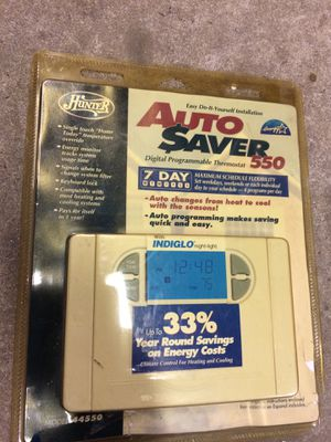 Hunter thermostat model 44550 for Sale in Portsmouth, VA