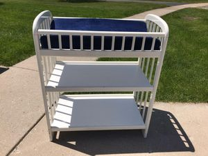 Wood Baby Changing Table for Sale in South Elgin, IL
