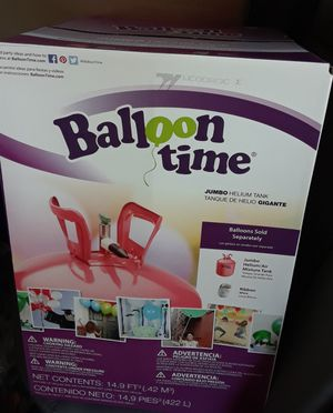 BRAND NEW Jumbo Helium Tank, party balloon birthdays for Sale in Sacramento, CA