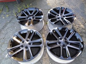 18x8 rims blacks 5x114 Honda's Nissan Ford's toyotas acuras infinity for Sale in Manassas, VA