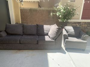 Sofa & Chair $175 OBO for Sale in Chino, CA