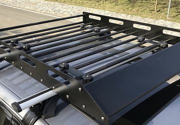 Universal roof basket for car or truck + cargo net for Sale in Issaquah,  WA