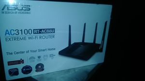 ASUS- AC3100 (RT-AC88U) Extreme Wi-Fi Router for Sale in Dallas, TX