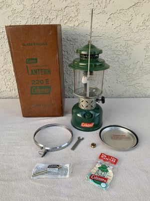 Coleman Instant Lighting 2 Mantle Camp Lantern Vintage for Sale in Pico Rivera, CA