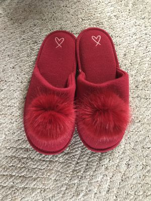 Victoria's Secret Fuzzy Pom Slippers for Sale in Lexington, KY