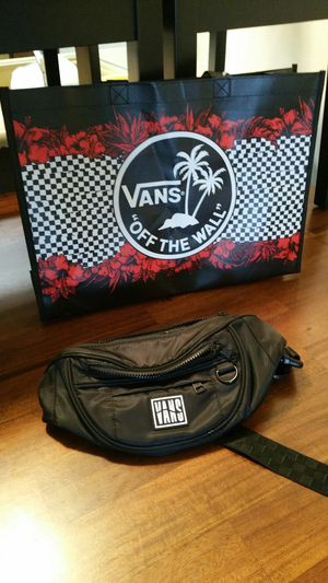 Van's fanny pack and tote bag for Sale in Spokane, WA