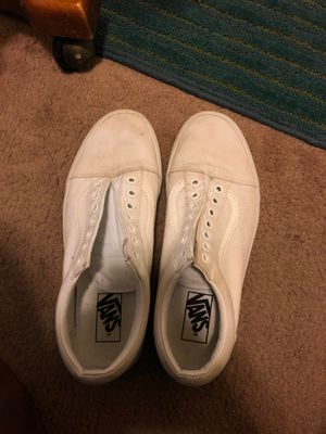 White Vans for Sale in Durham, NC