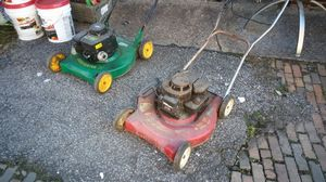 2 gas lawn mowers for Sale in Homestead, PA