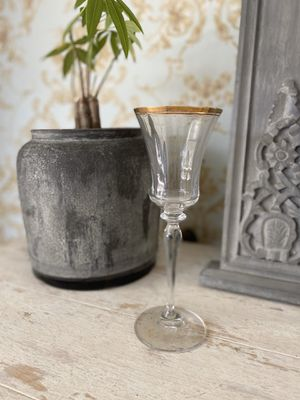 5 Vintage Gold Rim Glassware for Sale in Rowland Heights, CA
