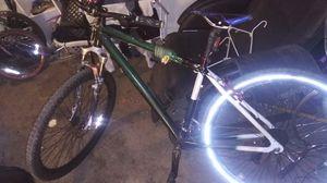 Giant custom build mountain bike. Custom bars forks peddles seat for Sale in Denver, CO
