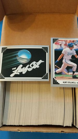 1991 leaf Baseball Cards Series 1 set (cards 1 to 264 for Sale in Maple Valley, WA