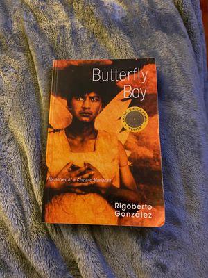 Butterfly boy by Rigoberto Gonzalez for Sale in Sacramento, CA