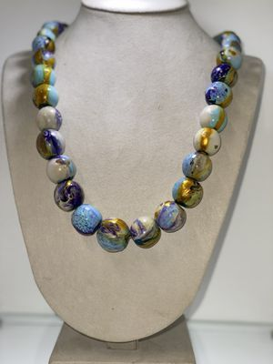 Multicolored bids long Necklace for Sale in Chicago, IL