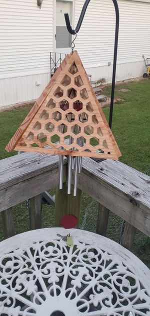 Pyramid honeycomb windchime for Sale in Waynesville, MO