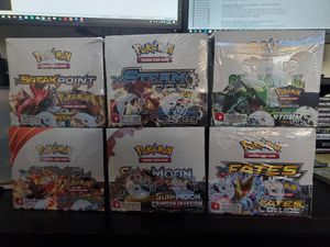 Pokemon Sealed Booster boxes 90 each for Sale in Stockton, CA