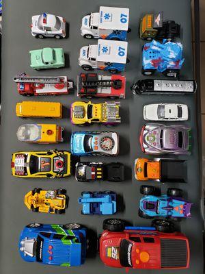 23 TOYS CARS , BOY TOY CAR CARROS DE JUGETE DE NIÑOS for Sale in Miami, FL