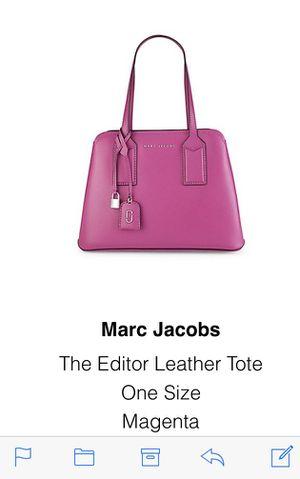 Designer Marc Jacobs handbag for Sale in Herndon, VA