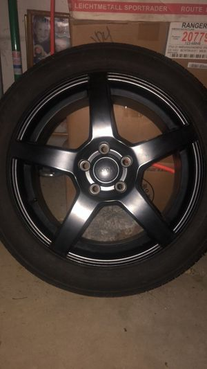 Audi A4 // Volkswagen Black rims for Sale in Grove City, OH