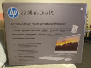 HP 22 All-in-One PC for Sale in Fort Smith, AR