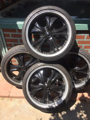 """20"""" rims and tiers for Sale in Phillips Ranch, CA"""