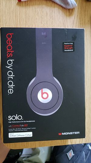 Beats SOLO by Dr. Dre for Sale in Portland, OR