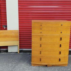Vintage Midcentury Bedroom Set - Cedar Lined - FIRM PRICED for Sale in Lorain, OH