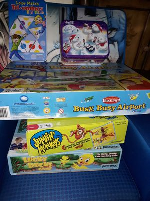 Board games/ kid games for Sale in Joliet, IL