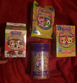 4 BOXES BRAND NEW CUTETITOS TASTE BUDDITOS for Sale in Gilbert, AZ