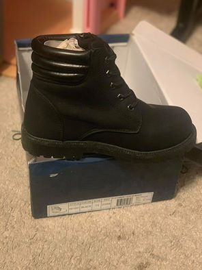 Cute Girl Black Boots for Sale in Round Rock, TX