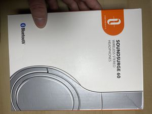 Soundsurge 60 Bluetooth noise cancellation headphones for Sale in Fairfax, VA