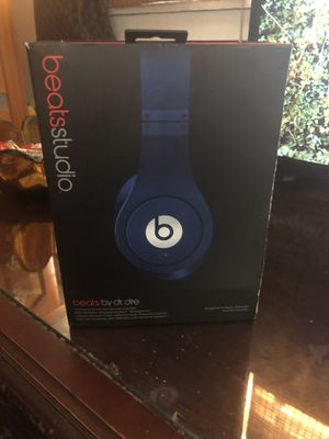 Beats Studio by dre blue ($175) for Sale in Los Angeles, CA
