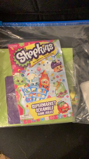 Shopkins board games for Sale in Levittown, NY