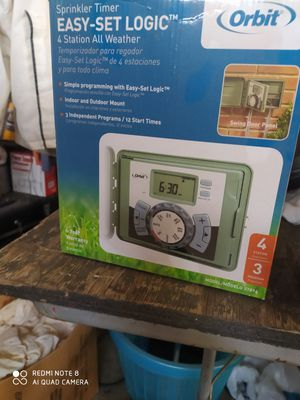 Sprinkler timer for Sale in Moreno Valley, CA