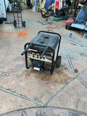 Coleman power mate 6875watt generator for Sale in Riverside, CA