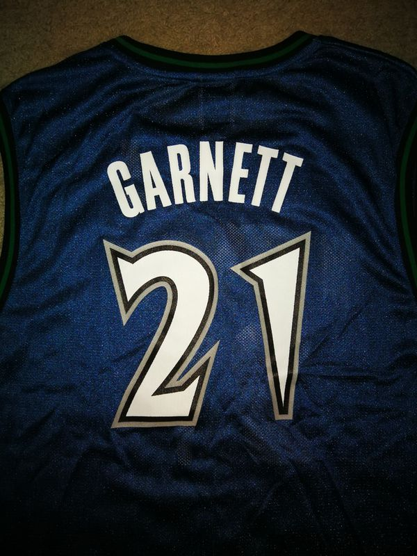 hot sale online 34373 c576d Minnesota T'Wolves Throwback Jersey - Kevin Garnett #21 for Sale in  Alhambra, CA - OfferUp